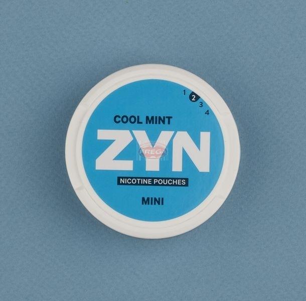 Zyn Cool Mint woreczki z nikotyną (snus bez tytoniu) mini dry intensywność 2 20 szt