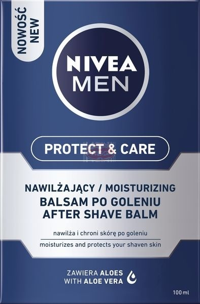 NIVEA MEN Protect & Care Balsam po goleniu nawilżający 100 ml