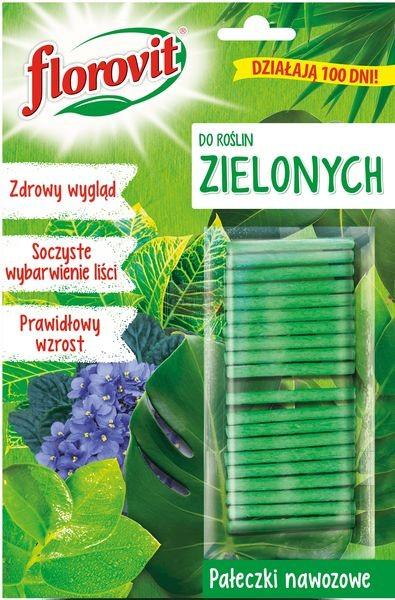 Florovit pałeczki nawozowe do roślin zielonych 20 g