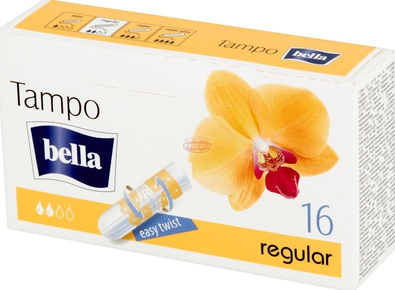 Bella premium comfort regular tampony 16 szt.