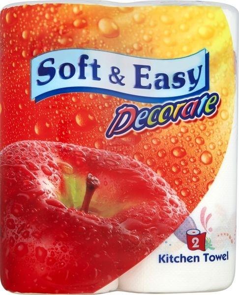 Soft & Easy ręczniki papierowe z nadrukiem 2 szt.