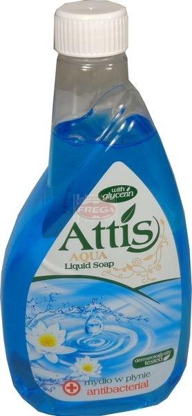 Attis mydło w płynie antybakteryjne 400 ml zapas