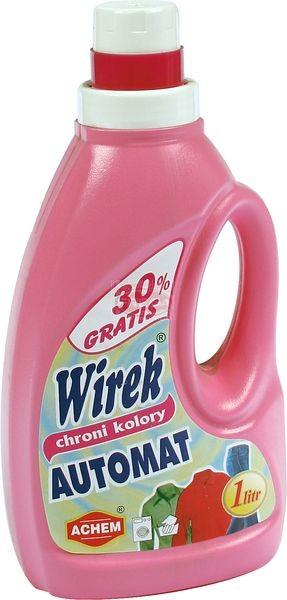 Wirek płyn do prania kolor automat 1 l