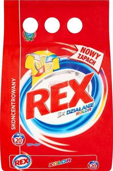Rex Color proszek do prania tkanin kolorowych 1,5 kg
