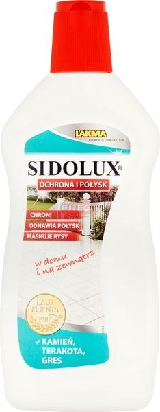 Sidolux Ochrona i połysk Środek do podłóg kamień terakota gres 500 ml
