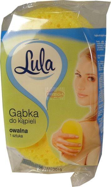 Lula gąbka do kąpieli owalna 1 szt