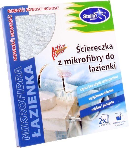 Stella ściereczka z mikrofibry do łazienki 35 x 35 cm 1 szt.