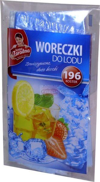 Anna Zaradna woreczki do lodu zawiązywane 196 szt.