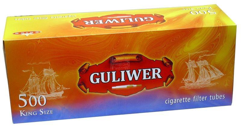 Guliwer gilzy papierosowe 500 szt.