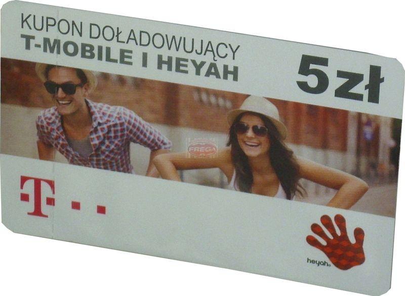 Karta T-Mobile/Heyah 5 zł