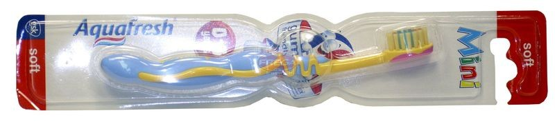 Aquafresh szczoteczka do zębów Mini Soft
