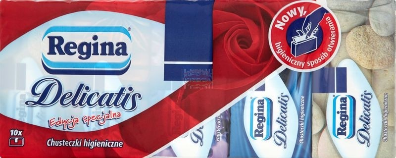 Regina chusteczki higieniczne 9 x 10 szt.