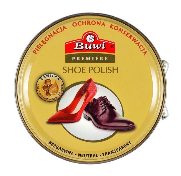 Buwi pasta do butów bezbarwna puszka 40 ml