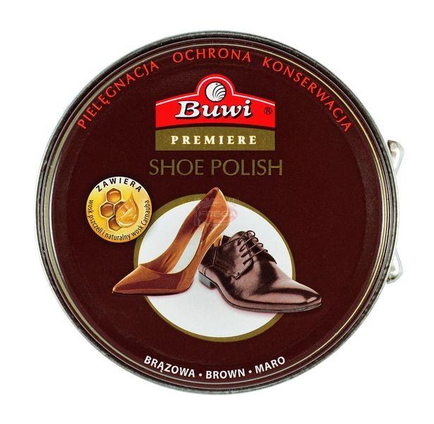 Buwi pasta do butów brązowa puszka 40 ml