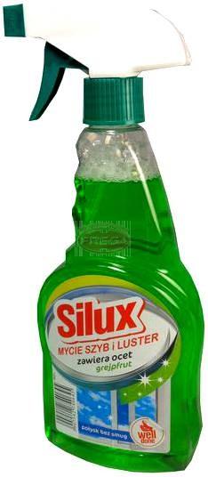 Silux płyn do mycia szyb grejpfrutowy rozpylacz 500 ml
