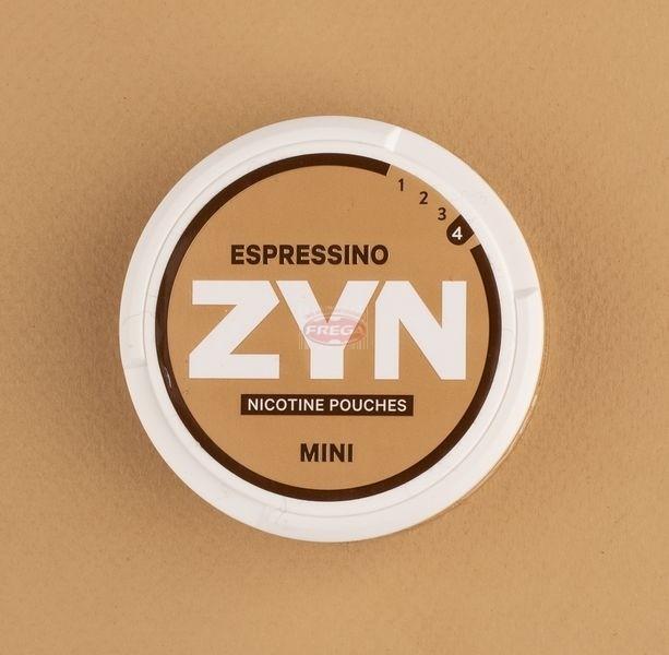 Zyn Espressino woreczki z nikotyną (snus bez tytoniu) mini dry intensywność 4 20 szt