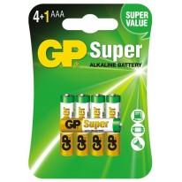GP baterie alkaliczne AAA LR03 1,5 V 5 szt