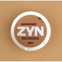 Zyn Espressino woreczki z nikotyną (snus bez tytoniu) mini dry intensywność 2 20 sz. 2+3 GRATIS