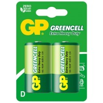GP baterie R20 D Greencell 2 szt.