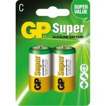 GP baterie alkaliczne Super LR14 C 1.5 V 2 szt