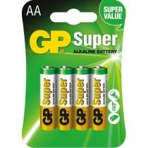 GP baterie alkaliczne Super LR6 AA 4 szt.
