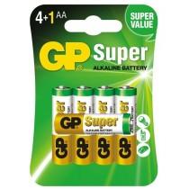 GP baterie alkaliczne Super AA LR6 1,5 V 5 szt