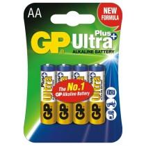 GP baterie alkaliczne Ultra Plus LR6 AA 4 szt
