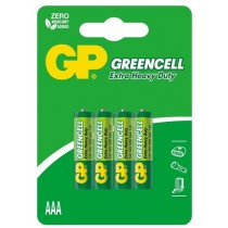 GP baterie R3 AAA Greencell 4 szt.