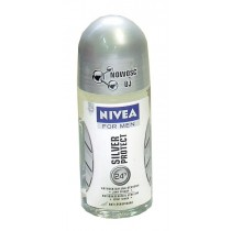 Nivea for Men dezodorant antyperspiracyjny Silver Protect roll-on 50 ml