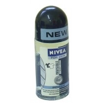 Nivea For Men dezodorant Invisible Power Roll-On 50 ml