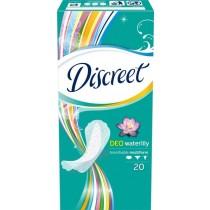 Discreet Waterlily Multiform Oddychające wkładki higieniczne 20 sztuk