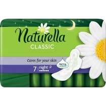 Naturella Classic Night Camomile Podpaski x7
