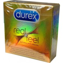 Durex Real Feel Prezerwatywy 3 sztuki