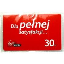 Karta doładowująca Virgin Mobile 30zł