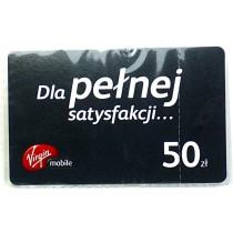 Karta doładowująca Virgin Mobile 50zł
