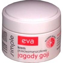 Krem przeciwzmarszczkowy Eva Simple jagody goji 50 ml