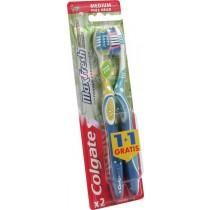 Colgate max fresh szczoteczka do zębów medium 1+1 gratis