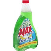 Ajax płyn do mycia szyb zielony zapas 750 ml