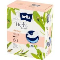 Bella Herbs Panty Plantago Normal Wkładki higieniczne 60 sztuk
