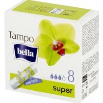 Bella tampo tampony bez aplikatora Super 8 szt
