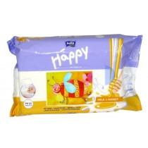 Bella Baby Happy chusteczki nasączane Milk & Honey 64 szt.