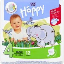 Bella Baby Happy Pieluszki jednorazowe 4 maxi 8-18 kg 12 sztuk