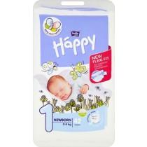 Bella Baby Happy Pieluszki jednorazowe 1 newborn 2-5 kg 42 sztuki