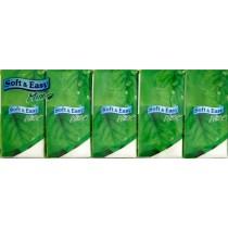 Soft & Easy chusteczki higieniczne miętowe 10 x 10 szt.