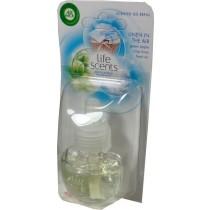 Air Wick zapas do elektrycznego odświeżacza o zapachu zielonego jabłka, rześkiej bawełny, świeżego powietrza 19 ml