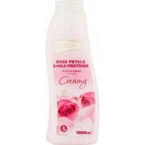 Luksja creamy płyn do kąpieli róża 1 l
