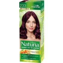 Joanna Naturia farba do włosów 233 głęboki burgund