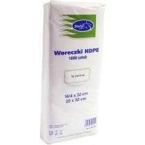 Woreczki HDPE 14/4 x 32 mm 1000 szt.