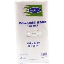 Woreczki HDPE 18/4 x 35 mm 1000 szt.