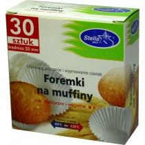 Stella foremki na muffiny śr. 50mm 30 szt.